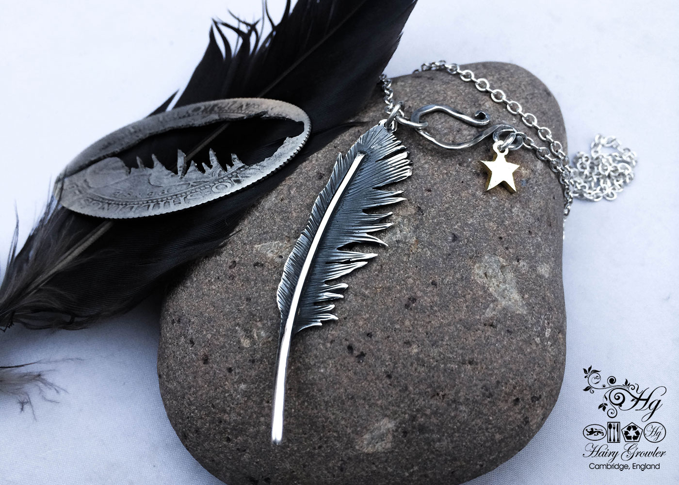 Black Raven Feathers were worn by some Native Americans to express and symbolise changes in spirit.