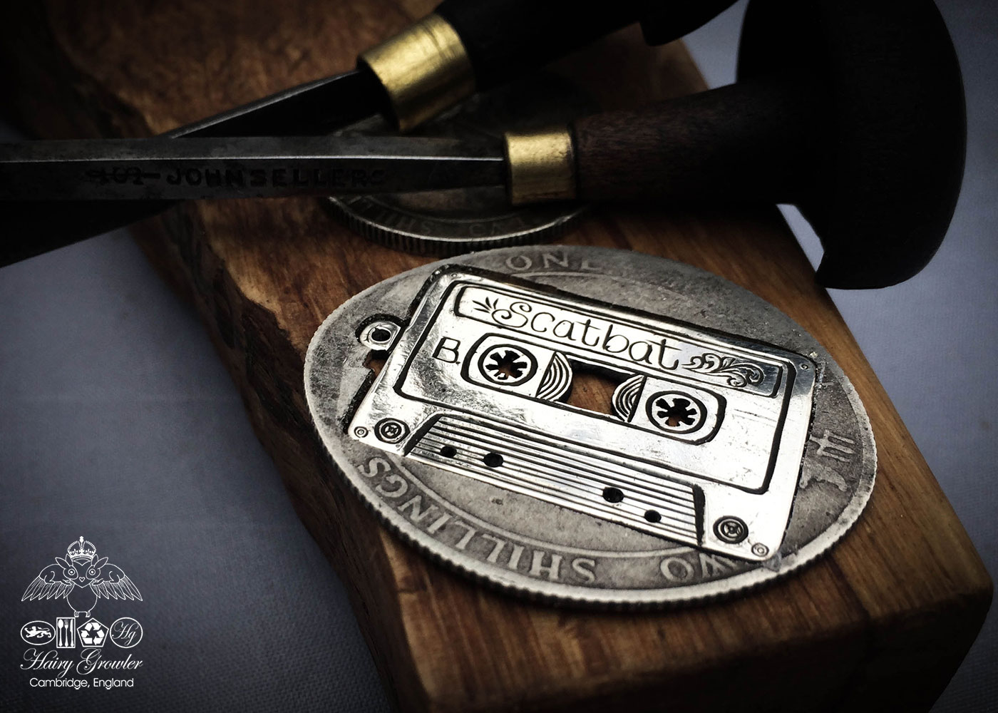 old skool mix tape silver jewellery hadnmade and recycled silver