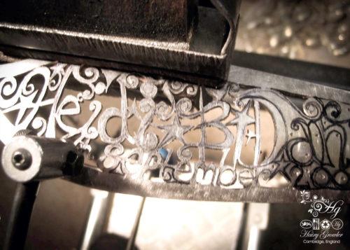 hand crafted and repurposed bespoke custom wedding-cake-knife
