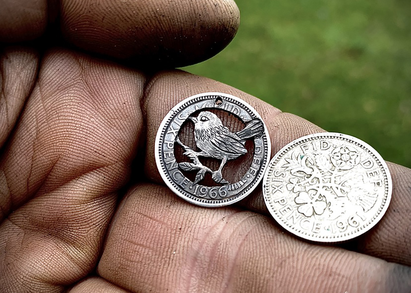 lucky sixpence jenny wren farthing