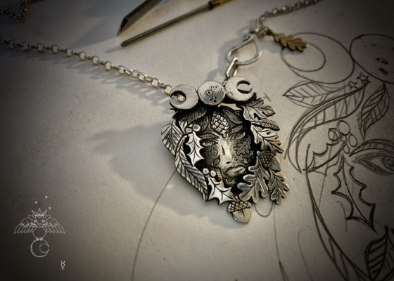 Beltane jewellery collection handmade and recycled in Cambridge, England